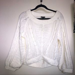 NWT Express Cable Knit Sweater